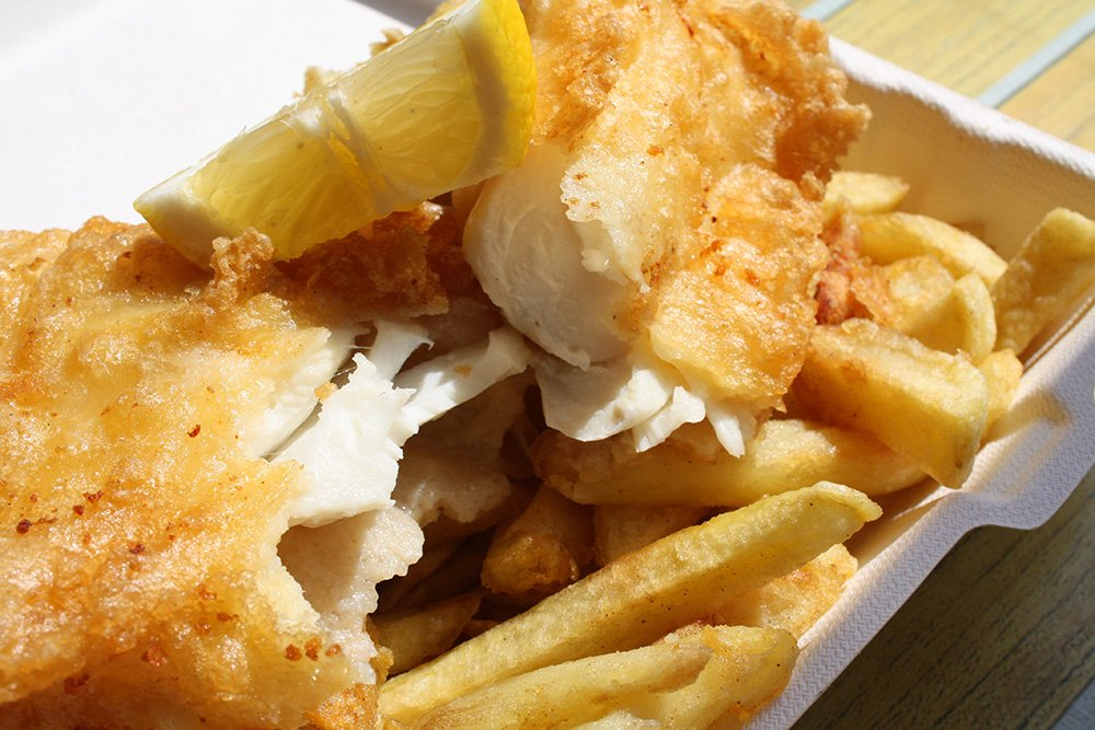 Will's Plaice Fish and Chips.