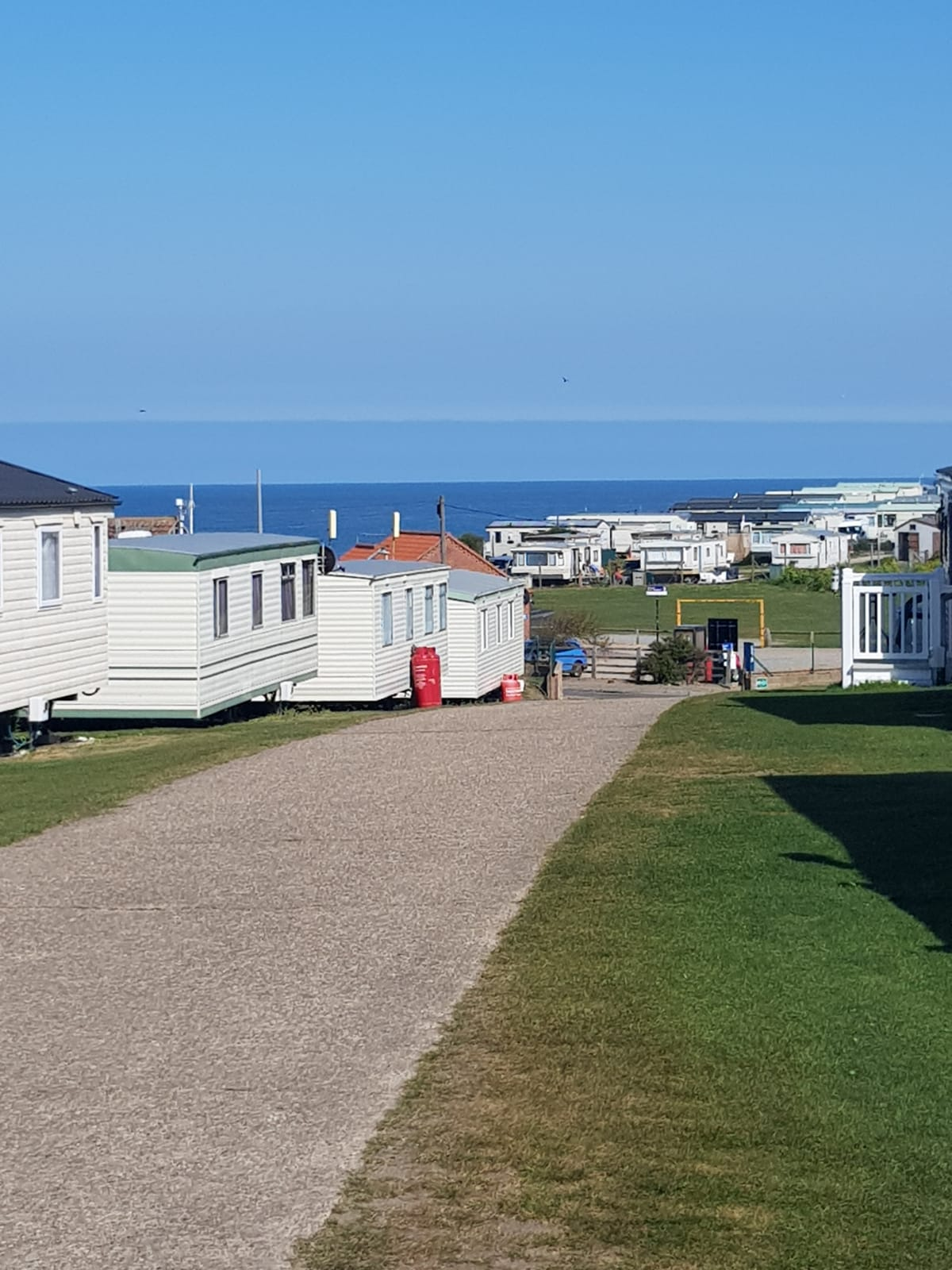 Caravan park.