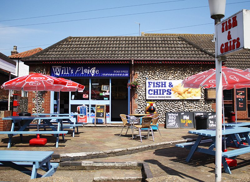 Will's Plaice in East Runton.