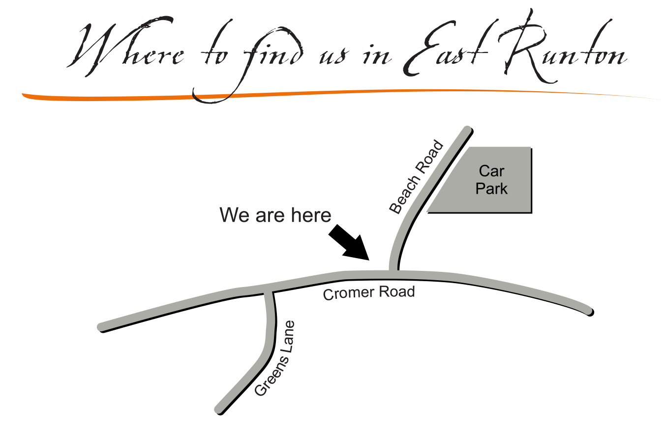 Location map for Will's Plaice.